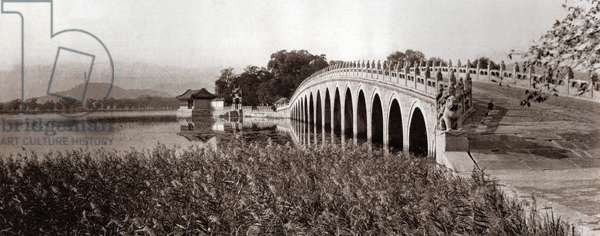 The bridge with 17 arches