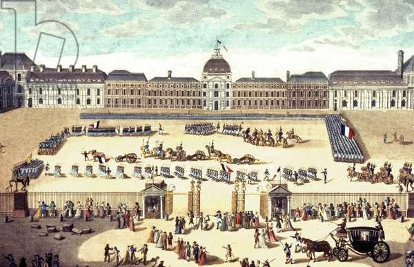 Defile au Louvre