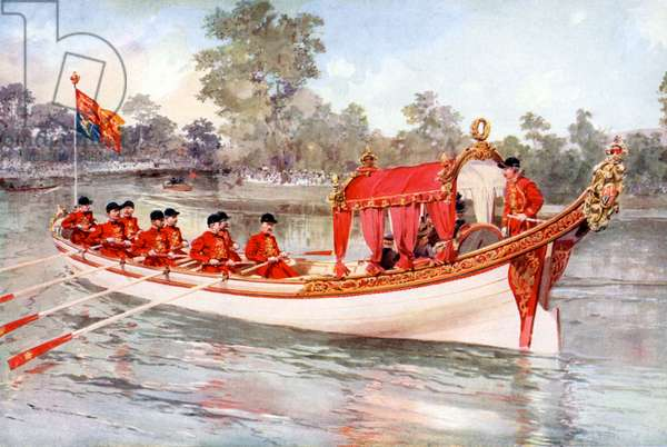 The Royal Regatta of Henley on the Thames