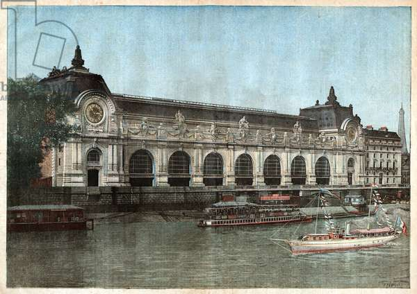Gare d'Orsay. Orsay railway station.