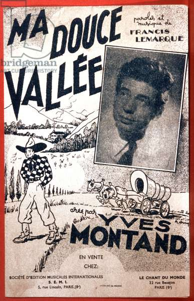 Ma douce vallee, song by Yves Montand