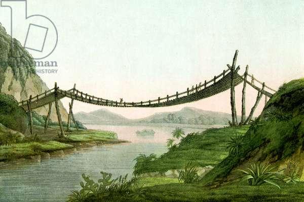 S AMERICAN ROPE BRIDGE
