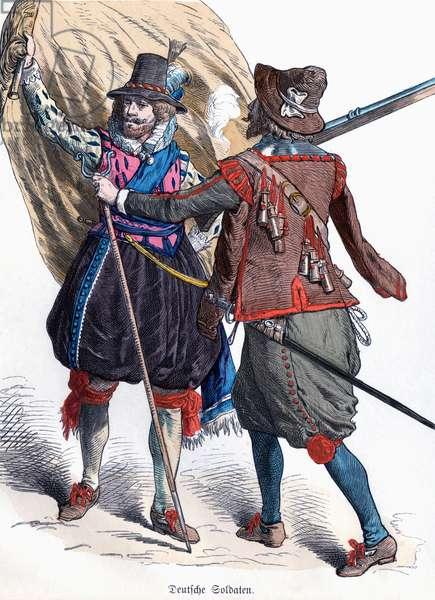 Costumes allemands du 17eme siecle