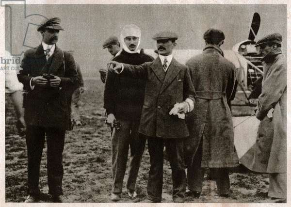 French pioneers of aviation. (b/w photo, 1935)
