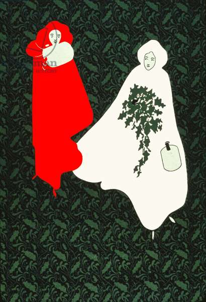 Christmas holly. (poster, 1895)