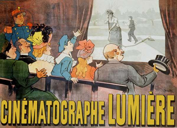 Les Freres Lumiere. 1896 (poster)