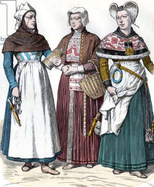 Costumes danois du 17eme siecle