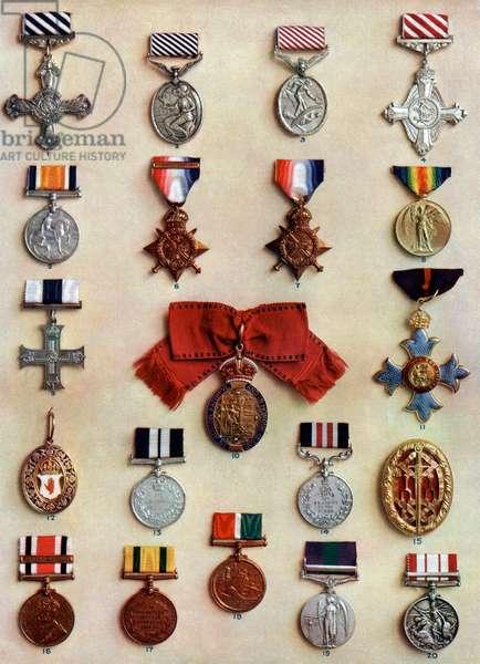 Medailles et decorations