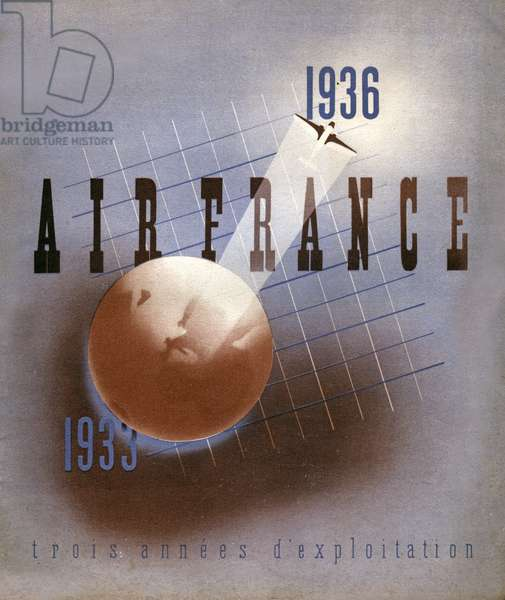 Air France, (Illustration, 1936)