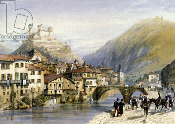 The city of Foix