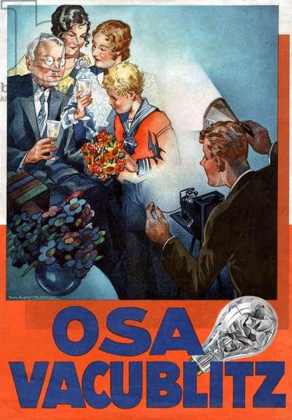 Advertising for the brand OSRAM