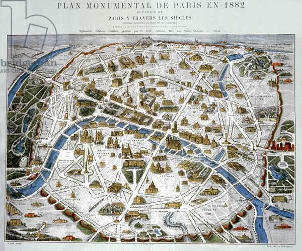 The New Paris. (engraving, ca. 1867)
