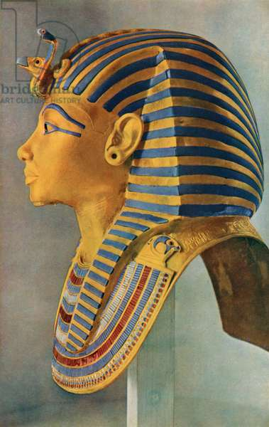 Golden Mask of the Mummy of Tutankhamun