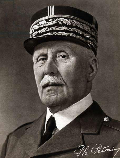 Marechal Philippe Petain. Marshall Philippe Petain.