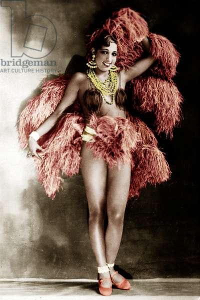 Josephine Baker aux Folies Bergeres