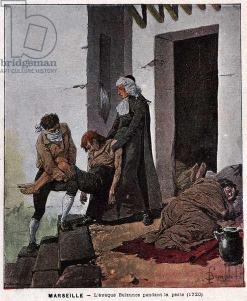 Peste de Marseille. Plague of Marseille.