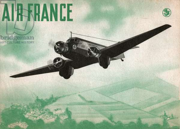 Air France. (Illustration, ca. 1935-1940)