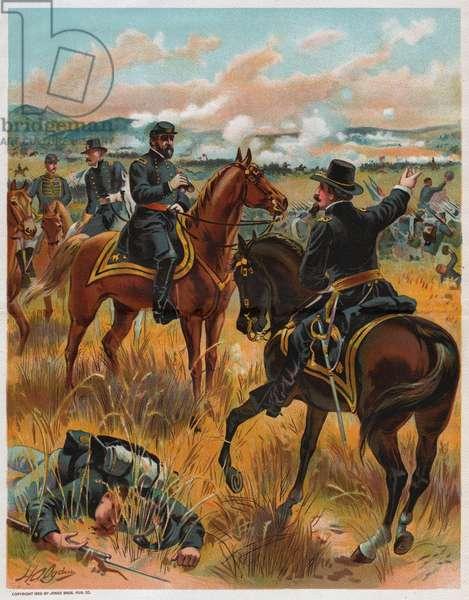 Bataille de Gettysburg. Battle of Gettysburg.