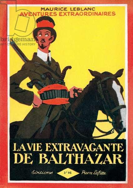 Cover of 'La vie extravagante de Balthazar', 1926 (colour litho)