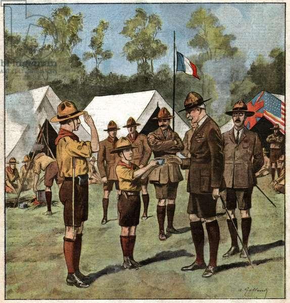 Robert Baden Powell.