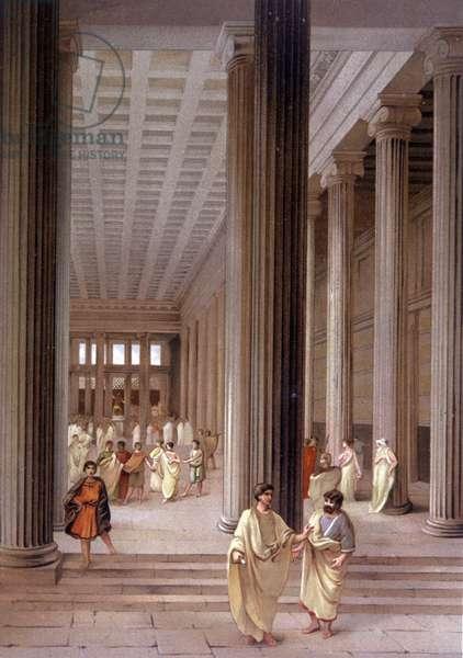 Temple a Pompei