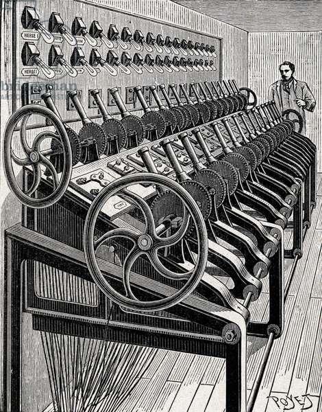 Machine electrique, Opera de Paris