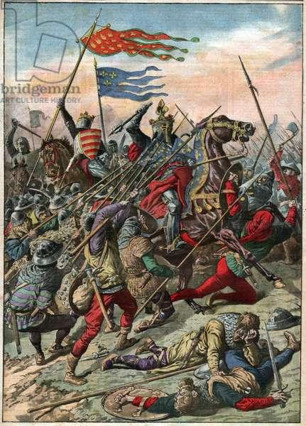 Bataille de Bouvines. Battle of Bouvines.