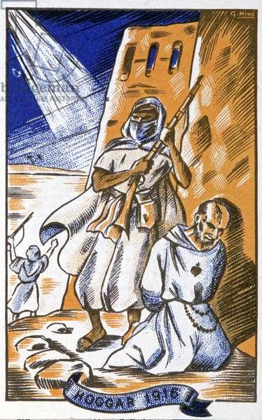 Assassination of Father Charles de Foucauld