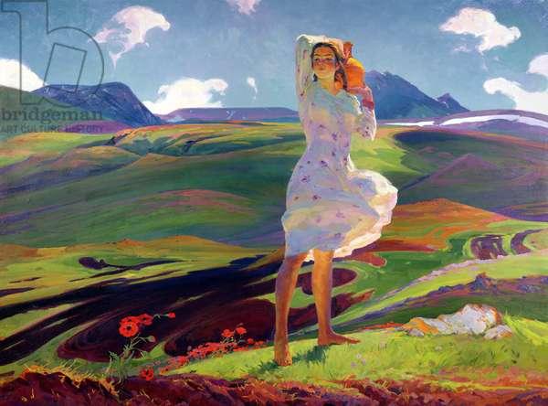 Springtime, 1956 (oil on canvas)