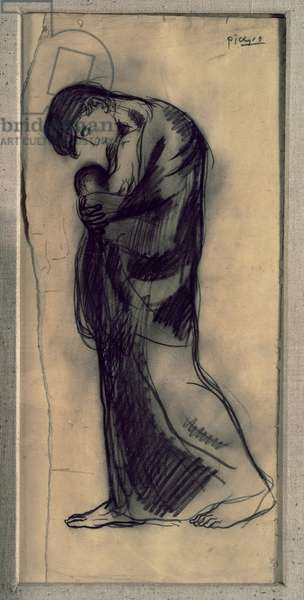 Maternity, 1902 (charcoal on paper)