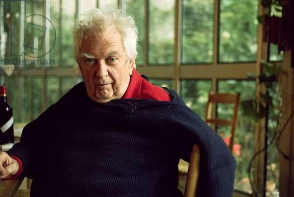Alexander Calder (1898-1976) c.1974 (photo)