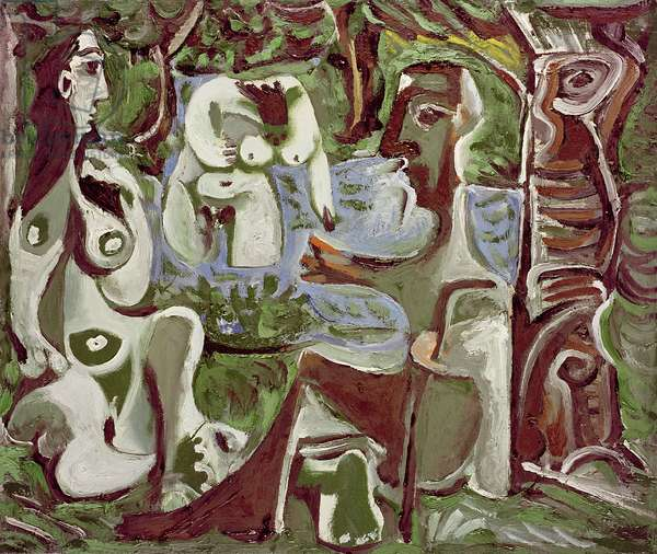 Les Dejeuners II, 10th August 1961 (oil on canvas)