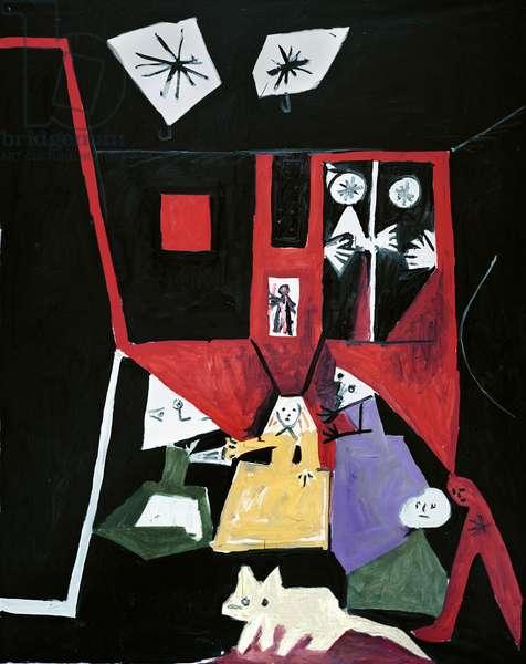 Las Meninas, 19th September 1957 (oil on canvas)