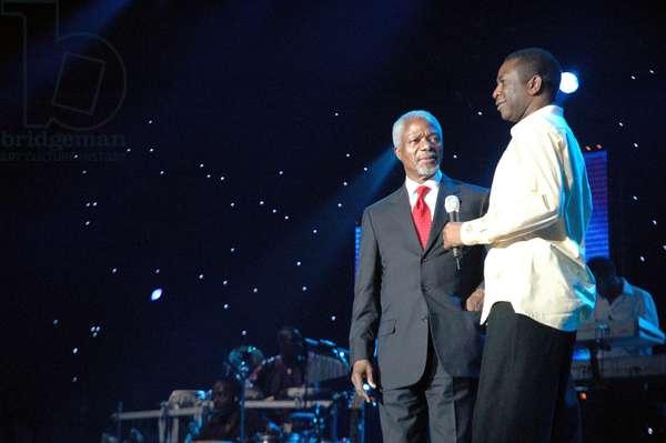 Kofi Annan & Youssou N'Dour