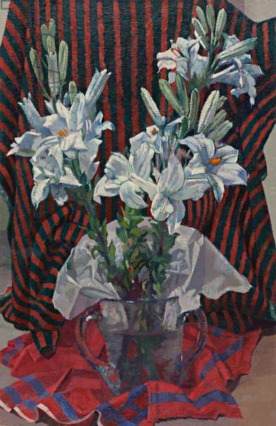 Lilies, 1930-35 (oil on canvas)
