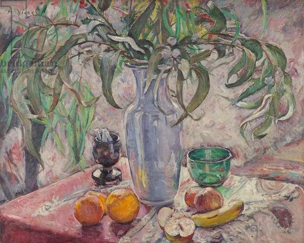 Eucalyptus en Contre-Jour, 1920 (oil on canvas)