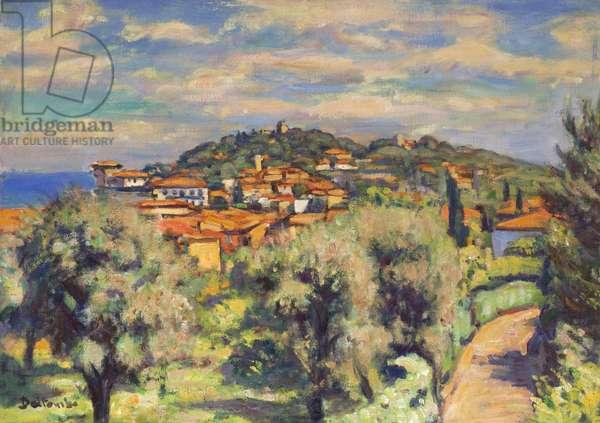 Saint-Jean-Cap-Ferrat, Alpes-Maritimes (oil on canvas)