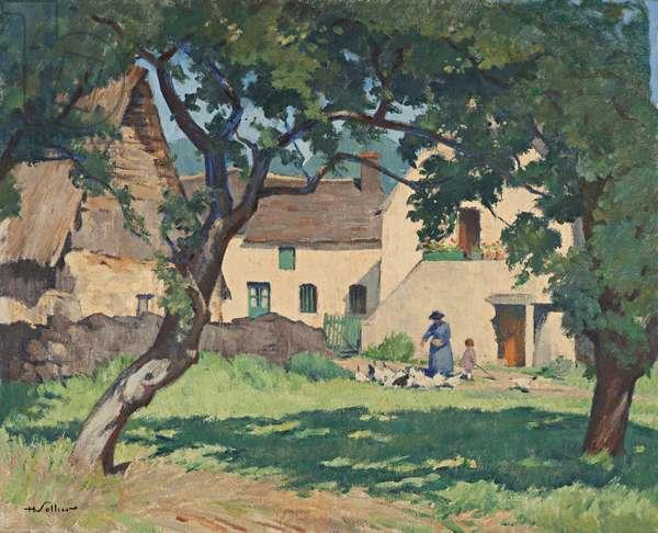 The Sunny Meadow, 1940 (oil on canvas)