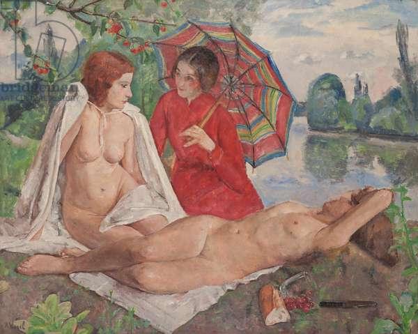 Le Temps des Cerises, 1933 (oil on canvas)