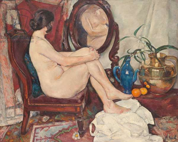 The Mirror, 1922 (oil on canvas)