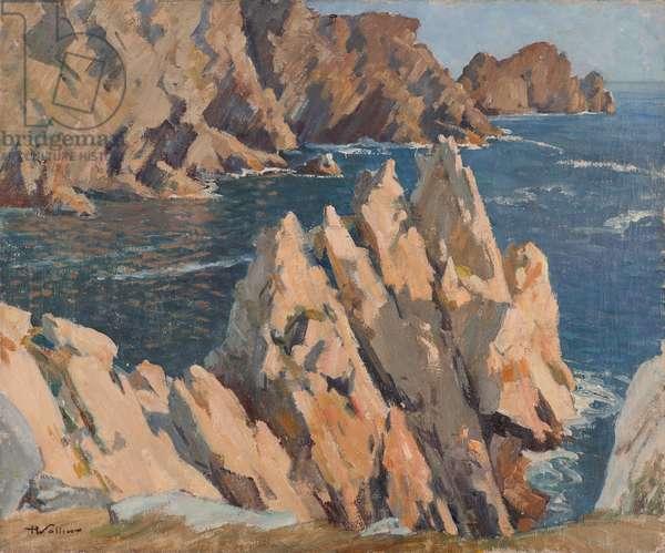Le Tas de Pois at Camaret, 1935 (oil on canvas)