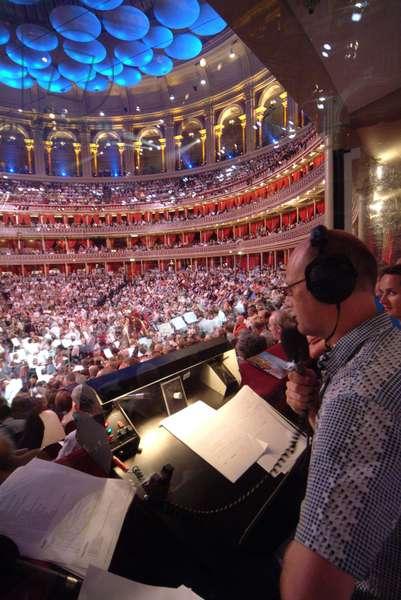 BBC radio booth with (photo)