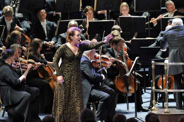 Gotterdammerung by Richard Wagner. BBC Prom 20, 2013 (photo)
