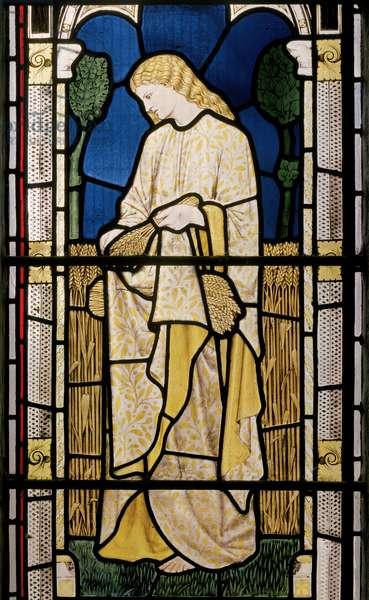 Ruth Amid the Alien Corn, Church of St Edward the Confessor, Cheddleton, 1868