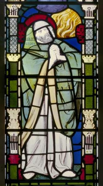 Banstead, All Saints, Morris Marshall & Faulkner & Co, William Morris, Ezekiel, 1863