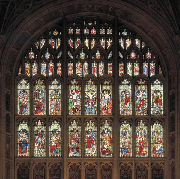 East window, 1856 (stained glass)