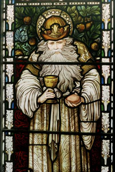 Melchizedek, King Of Salem, 1876 (stained glass)