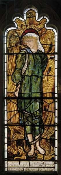 Abednigo, The Fiery Furnace, West Window, 1870 (stained glass)