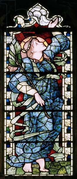 Ashton Under Lyne, Albion Congregational Church, Morris & Co., Edward Burne-Jones, South Transept, 1896