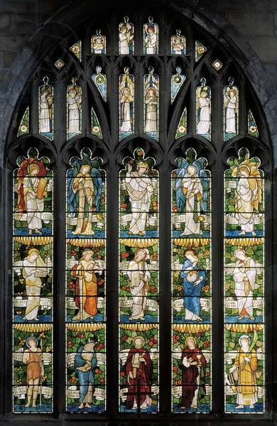 East Window, 1879 (stained glass)